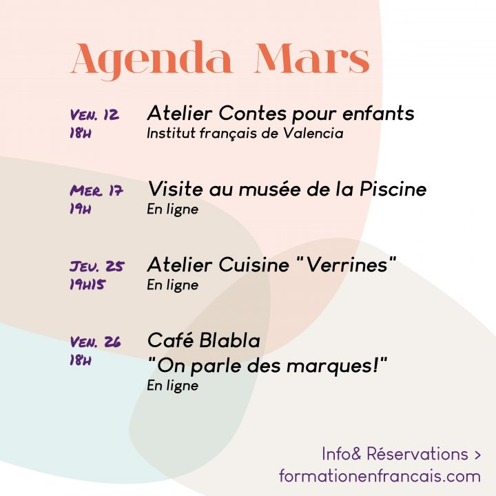 Actividades para practicar francés en marzo