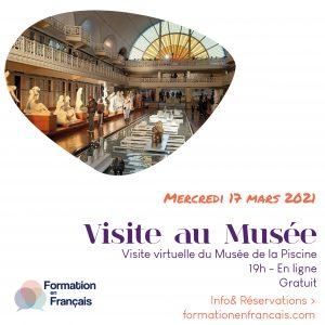 visita al museo en frances